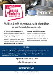 affiche PMO semaine industrie